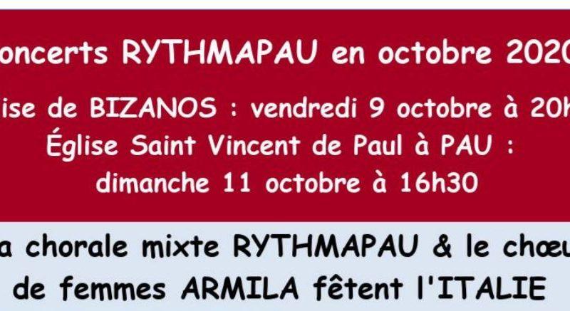 Concert en l'église Saint Magne – RYTHMAPAU