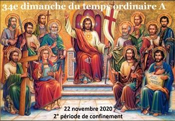 Dimanche 22 Novembre 2020