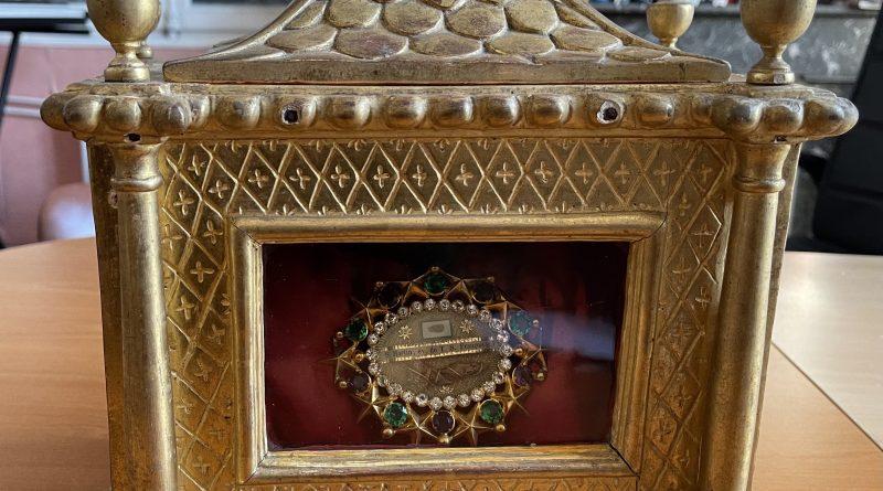 Reliques de Saint Martin à l'église St Magne